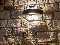 Dettaglio lampada degli animali