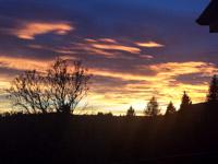 tramonto baita valmaron