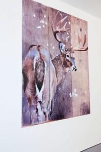 Quadro cervo portrait