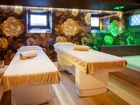 Asiatische Massagebetten Spa