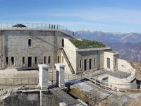 Foto panoramica del forte lisser