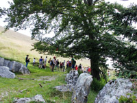 Gruppo in escursione