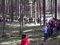 Bosco scuola orienteering