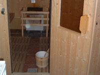 Die hoteleigene sauna