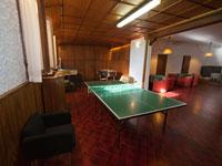 Das Spielzimmer mit Pingpong