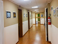 Corridoio camerate casa zeleghe