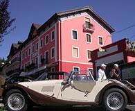 Hotel alpi foza facciata