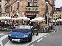 Das Grand Café Adler in Asiago