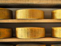 Asiago-Käse DOP im Alter