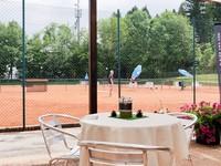 Bar annesso al campo da tennis