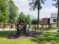 Parco giochi al parco millepini