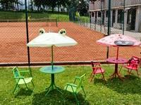 Tavoli per bambini al bar tennis club