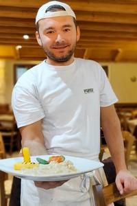 cuoco al fortino con baccala portrait