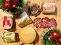 Typische Produkte des Frigo Stöff Shops