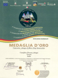 Asiago d'Allevo Dop Stravecchio Award
