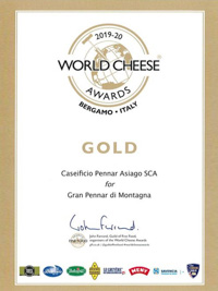 World Cheese Awards Grand Mountain Pennar