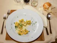 tortelloni ricotta spinaci asiago