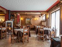 Panoramica tavoli ristorante