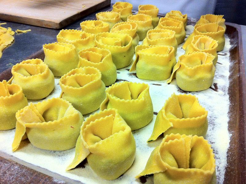 Hausgemachte Pasta Lasagnetta