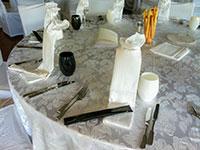 Dettaglio tavolo apparecchiato