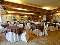 Salone da pranzo del ristorante
