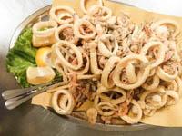 piatto di frittura mista di pesce