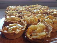 tortino pere crema e cioccolato val formica