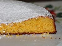 dolce torta zucchero a velo rifugio bar alpino
