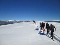 rifugio alpino ciaspolata