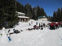 rifugio bar alpino escursione ciaspolata