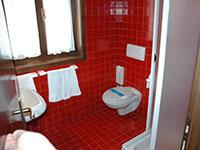 Dettaglio bagno albergo