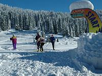 Indicazioni varie piste sci