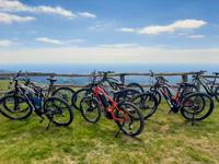 E-Bike mit Panoramablick