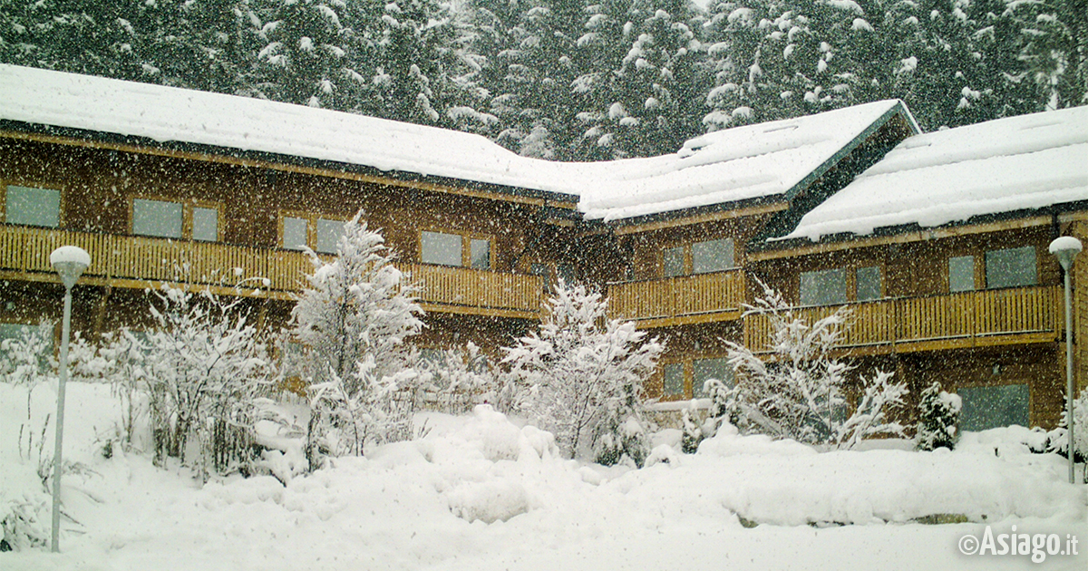 panoramica invernale rendola
