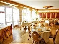 The Hotel's restaurant bar