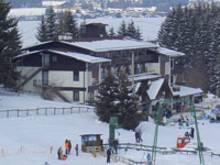 Convenient ski slopes from the Hotel