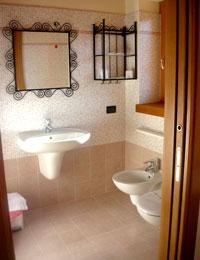 Detail of a bathroom