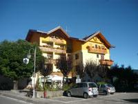The Hotel Belvedere in Cesuna