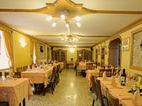 Sala ristorante albergo valbella
