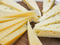 Cheese tastings produced at Malga I Lotto Valmaron