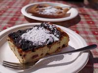 Ricotta and chocolate cake