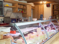 The dairy's wide range of cheeses