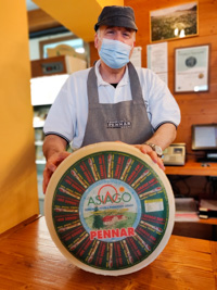 Smiles and cheese at Pennar Asiago Dairy