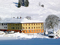 Restaurant Campomezzavia di Asiago in winter