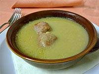 zuppa verza salsiccia
