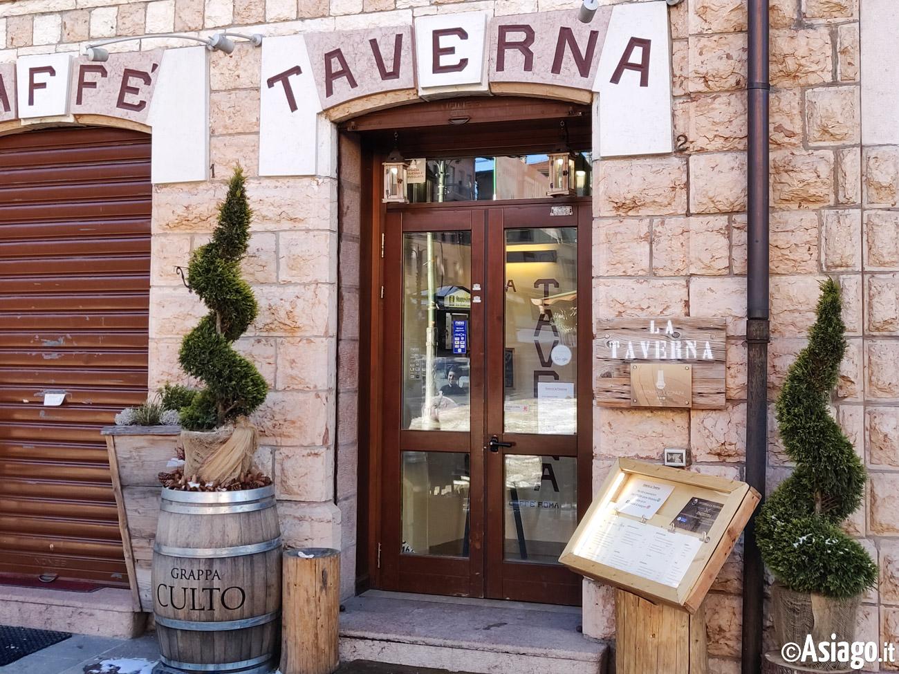 Osteria La Taverna Asiago Plateau 7 Municipalities