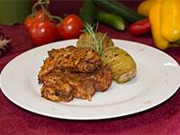 Costine maiale grigliate
