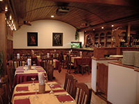 Tavoli sala pizzeria magia