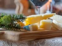Dettaglio formaggi ristorante ca sorda