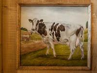 Ristorante ca sorda raffigurazione di mucca